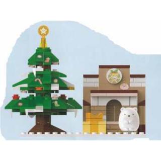 ★新品★ すみっコぐらし クリスマスマスコット付き ブロック ツリー しろくま