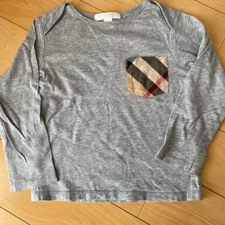 BURBERRY - Burberry 長袖Tシャツ ベビーキッズ
