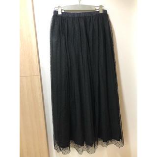 ノーブル(Noble)のチュールロングスカート《Noble》(ロングスカート)