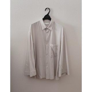 STUDIOUS - ETHOSENS エトセンス 19ss ワイドスリーブシャツ