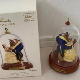 Disney - 2008年製 ホールマーク オルゴール付き オーナメント 美女と野獣