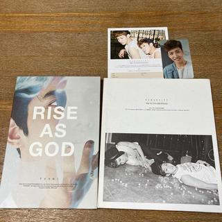 トウホウシンキ(東方神起)の東方神起 TVXQ!/ 韓国盤『Humanoids』『RISE AS GOD』(K-POP/アジア)