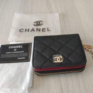 CHANEL - 新品   シャネル  コイン カードケース    財布 ノベルティ