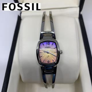 フォッシル(FOSSIL)のフォッシル(FOSSIL)レディース腕時計 新品未使用で新品電池ですが‥訳あり。(腕時計)