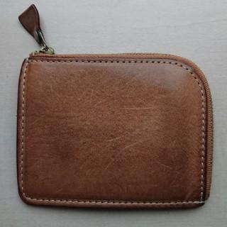 ツチヤカバンセイゾウジョ(土屋鞄製造所)の土屋鞄 ナチューラ ヌメ革Lファスナー(折り財布)
