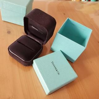 ティファニー(Tiffany & Co.)のティファニー 指輪ケース 単品購入可(その他)
