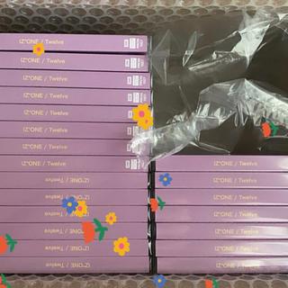 ユニバーサルエンターテインメント(UNIVERSAL ENTERTAINMENT)のIZONE 「twelve」WIZ*ONE盤CD+生写真1枚(K-POP/アジア)