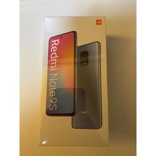 【新品未開封】Xiaomi Redmi Note 9S 4GB/64GBホワイト