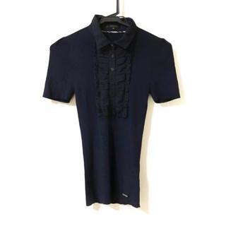 バーバリーブラックレーベル(BURBERRY BLACK LABEL)のバーバリーブラックレーベル ポロシャツ 38(ポロシャツ)