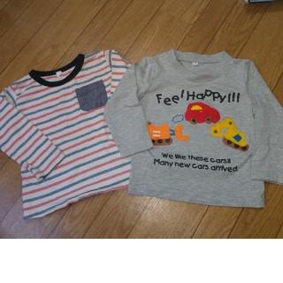 西松屋 - 長袖Tシャツ 2枚セット