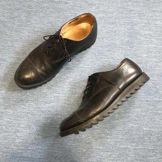 sullen tokyo shark sole leather shoes (ドレス/ビジネス)