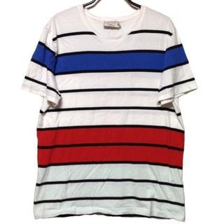 メゾンキツネ(MAISON KITSUNE')のメゾンキツネ 半袖Tシャツ サイズL(Tシャツ(半袖/袖なし))