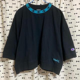X-girl - 数回のみ Championコラボ Tシャツ