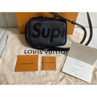 LOUIS VUITTON - 【極美品】Louis Vuitton×supreme ダヌーブ PPM 黒