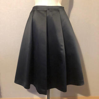 anatelier - アナトリエ サテン ひざ丈スカート