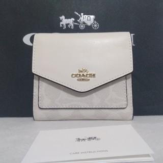 COACH - 新作 新品未使用 COACH コーチ ホワイト 財布
