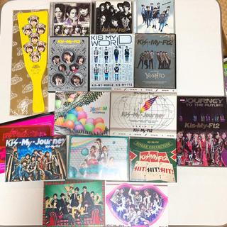 キスマイフットツー(Kis-My-Ft2)のまとめ売り 美品 Kis-My-Ft2 CD DVD 本 羽子板 セット(アイドルグッズ)
