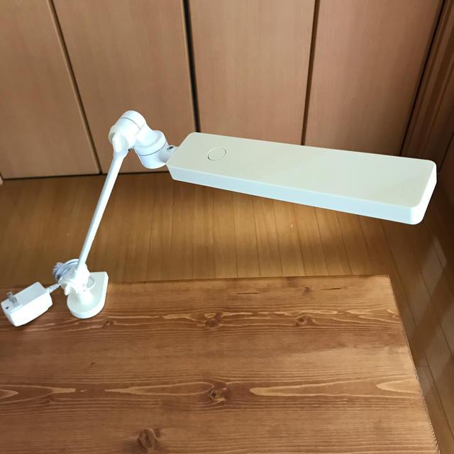 MUJI (無印良品)(ムジルシリョウヒン)の無印良品テーブルライト インテリア/住まい/日用品のライト/照明/LED(テーブルスタンド)の商品写真