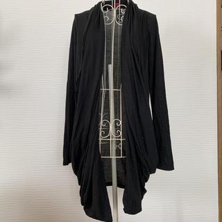 ダブルスタンダードクロージング(DOUBLE STANDARD CLOTHING)のdouble standard カーディガン 黒(カーディガン)
