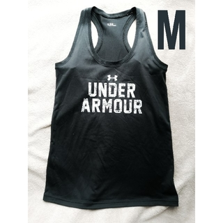 UNDER ARMOUR - アンダーアーマー タンクトップ Mサイズ 黒