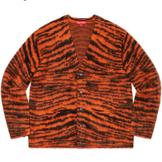 Supreme - XL Supreme Brushed Mohair Cardigan