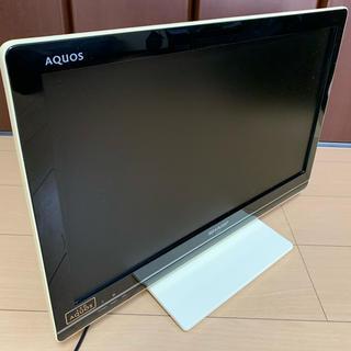 SHARP - シャープ液晶テレビ22型 アクオスLC-22K7