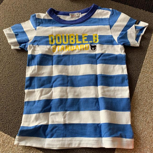 DOUBLE.B(ダブルビー)のDOUBLE.B 半袖Tシャツ キッズ/ベビー/マタニティのキッズ服男の子用(90cm~)(Tシャツ/カットソー)の商品写真