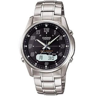 カシオ(CASIO)のCASIO 電波ソーラー マルチバンド6 未使用 時刻合わせ不要 プレゼント(腕時計(アナログ))