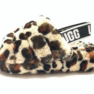 UGG - アグ サンダル 24 レディース美品  - 豹柄