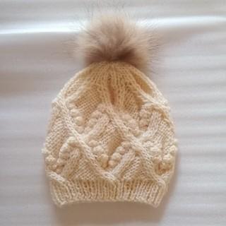 イング(INGNI)のINGNI  ニット帽 毛糸の帽子(ニット帽/ビーニー)