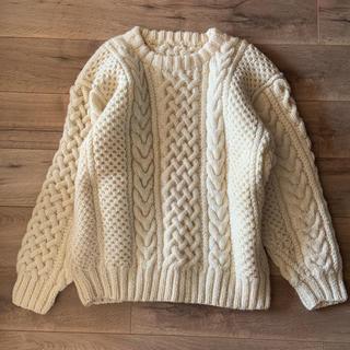 Lochie - 古着屋購入 ヴィンテージアランニット ケーブルニット セーター