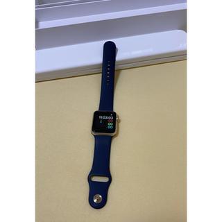 Apple Watch - Apple Watch 初代? ネイビーバンドとゴールド