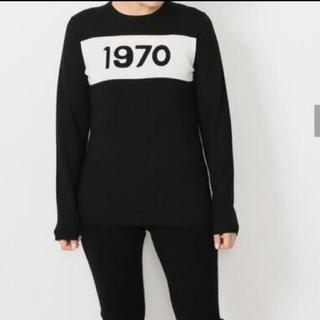 ドゥーズィエムクラス(DEUXIEME CLASSE)のドゥーズィエムクラス 購入 BELLA FREUD 1970ウールニット 黒(ニット/セーター)