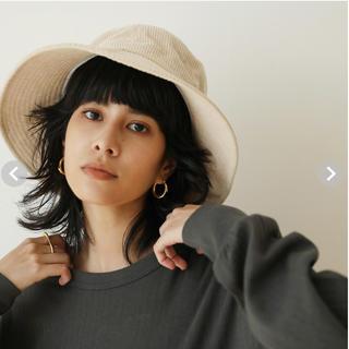 シールームリン(SeaRoomlynn)のsearoomlynn  CORDUROY BUCKET HAT(ハット)