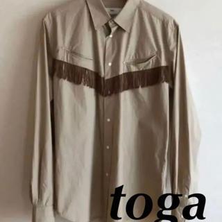 トーガ(TOGA)のトーガビリリース ウエスタンシャツ フリンジシャツ(シャツ)