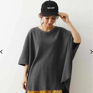 RODEO CROWNS WIDE BOWL - 新品 大きいサイズ ロデオ ピグメント ワッフル ポンチョ  Tシャツ 黒