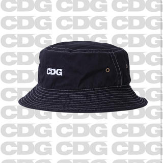 COMME des GARCONS - 新品未使用 CDG GARMENT DYED HAT  NAVY
