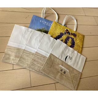 ロクシタン(L'OCCITANE)のショップ袋⭐️小⭐️4枚セット(ショップ袋)