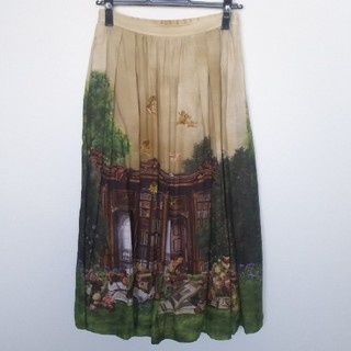 JaneMarple - ジェーンマープル Holy libraryスカート