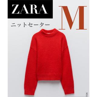 ZARA - 【新品/タグ付き】 ZARA ニットセーター ウール混紡製セーター ニット