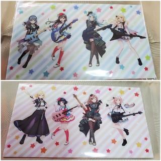 BanG Dream! 8th☆Live マルチケース ピンク&ブルー(クリアファイル)