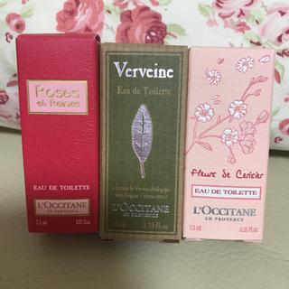 ロクシタン(L'OCCITANE)のロクシタン オードトワレミニ3本 新品(香水(女性用))