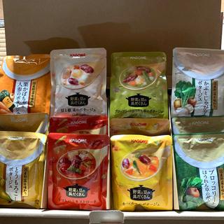 カゴメ(KAGOME)のKAGOME 冬のポタージュバラエティセット 16袋(レトルト食品)