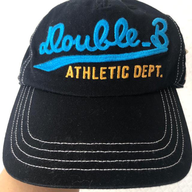 DOUBLE.B(ダブルビー)のダブルビー 帽子Mサイズ キッズ/ベビー/マタニティのこども用ファッション小物(帽子)の商品写真