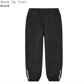 Supreme - 【新品未使用品】supreme Warm Up Pant Black S