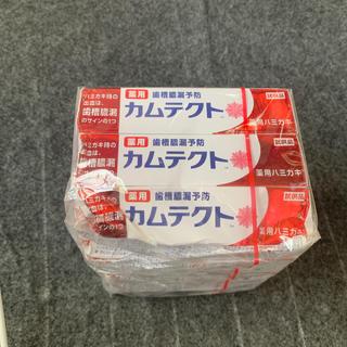 新品カムテクト12本(歯磨き粉)