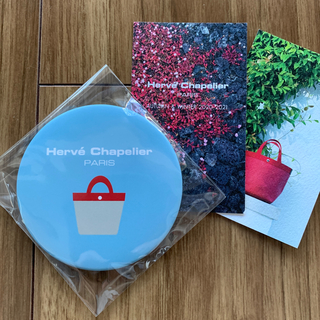 Herve Chapelier - 【新品未開封】エルベシャプリエ☆ノベルティ☆ミラー☆非売品