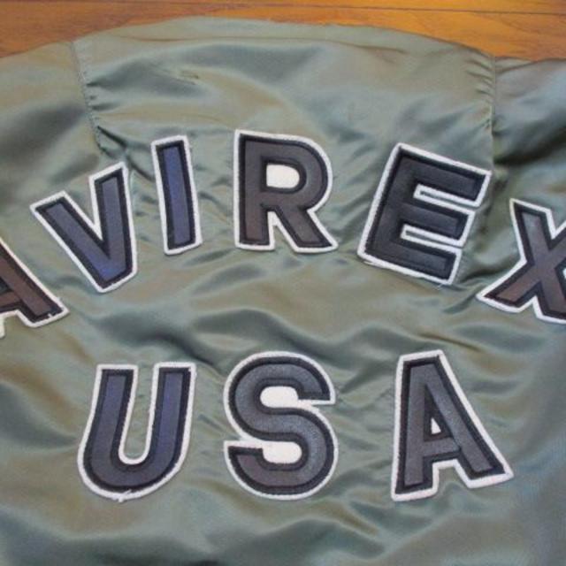 AVIREX(アヴィレックス)の★AVIREX★MA-1★稀少USA生産モデル★アビレックス★ メンズのジャケット/アウター(フライトジャケット)の商品写真