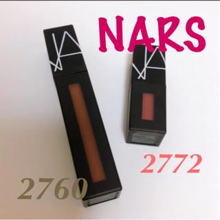 NARS - NARS  ナーズ パワーマットリップピグメント 2760  2772  セット