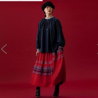 ロンハーマン(Ron Herman)のHOUSE OF LOTUS サーミカットジャガードスカート(ロングスカート)